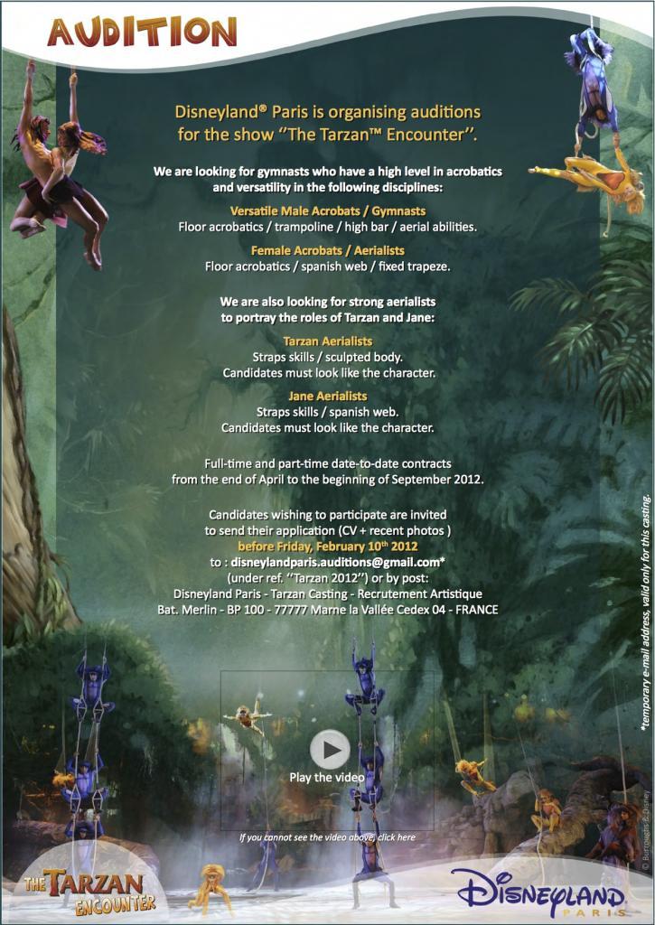 The Tarzan Encounter Will Return for the 20th Anniversary