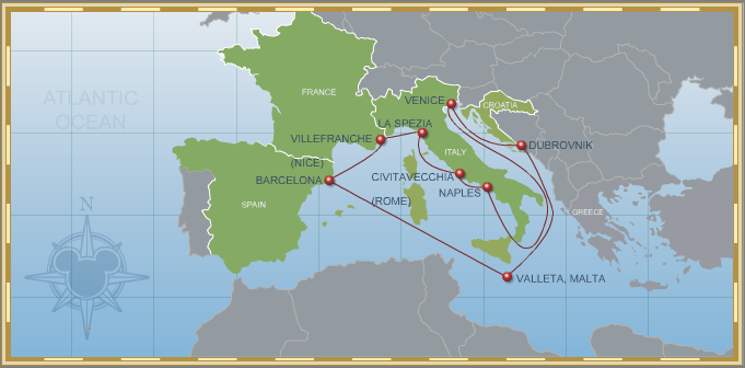 Disney Cruise Line is Coming Back to Europe in 2013!!!!!