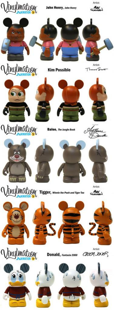 Furry Friends and Animation 2 Vinylmation coming to Disney Stores This January #SaveUKVinylmation