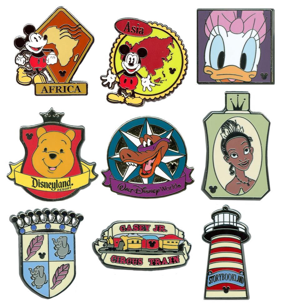 Disney Parks Unveil 2012 Hidden Mickey Pins