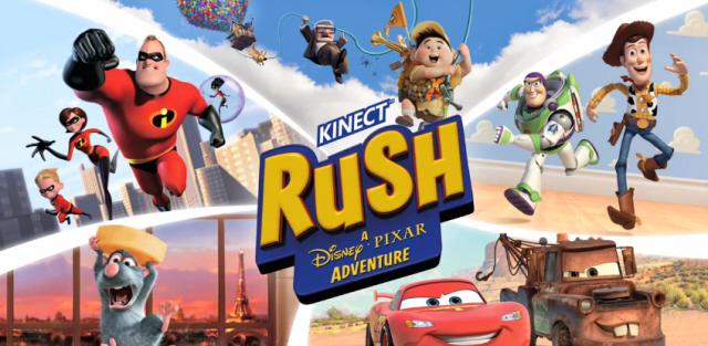 Disney/Pixar's Rush Coming To XBox Kinnect