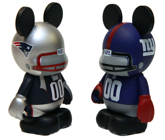 Sport Theme Vinylmation Coming in Time for Superbowl Weekend