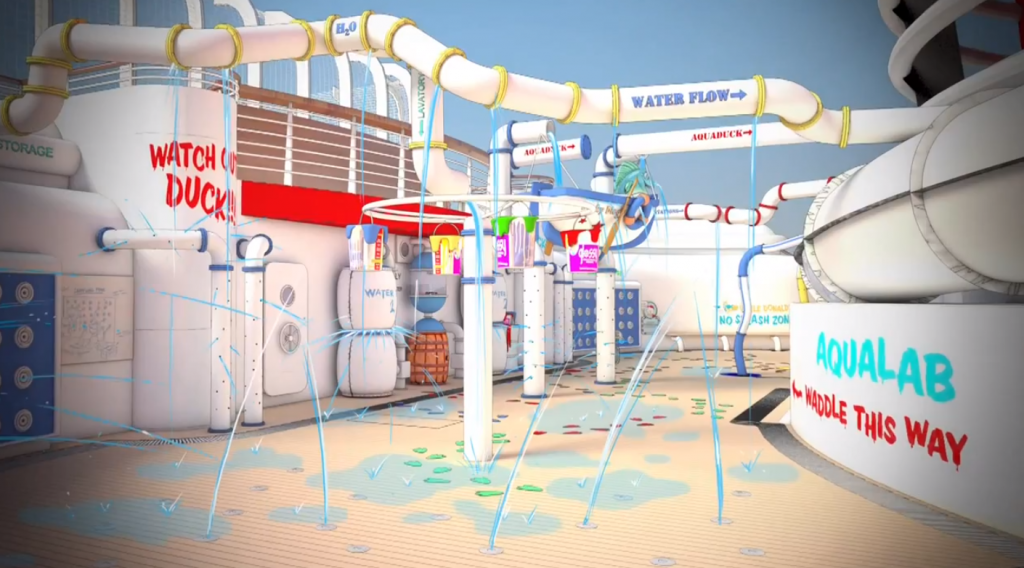 Disney Fantasy New Water Features revealed!