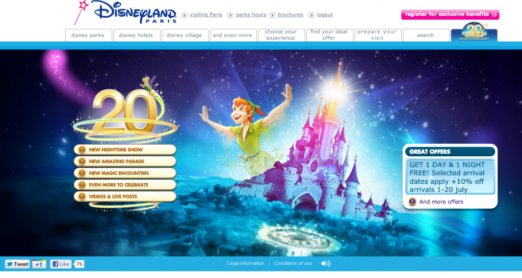 20th Anniversary Mini Site and Theme Song Launched