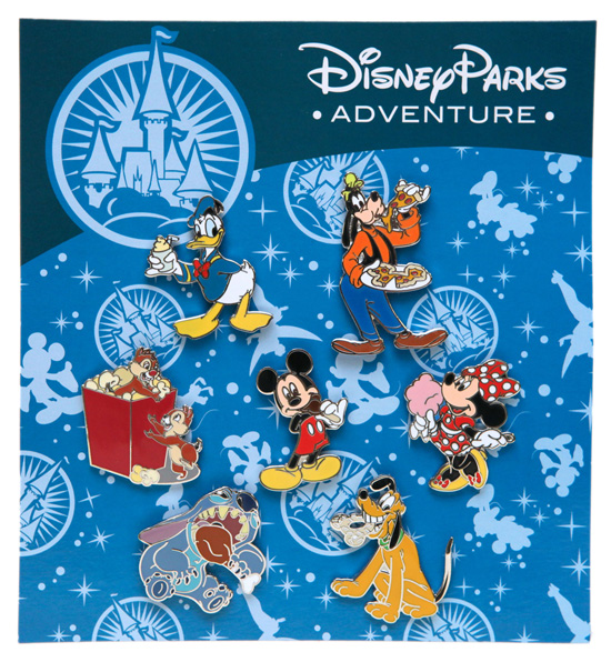 Exclusive Park Themed Pins Coming to Disney Parks Online