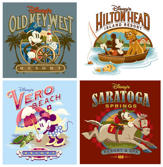 New Disney Vacation Club Merchandise