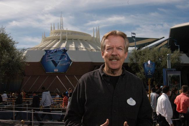 Tony Baxter Masterclass at Disneyland Paris on April 12