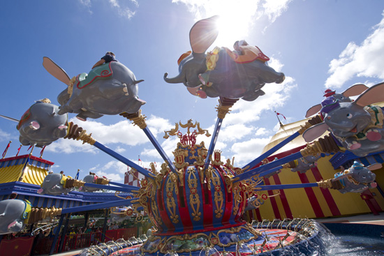 Storybook Circus Soft Opens for Guests at the Magic Kingdom