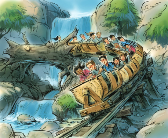 Opening Dates Announced for Beast's Castle, Seven Dwarfs Mine Train & More