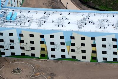 Art of Animation Resort Construction Update 4/5/12