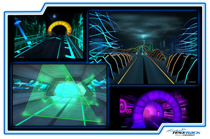 Test Track Concept Art Review