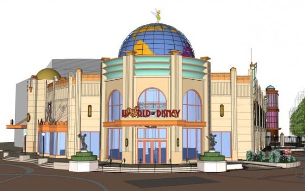 Disneyland Paris Announce Opening of the World of Disney Store