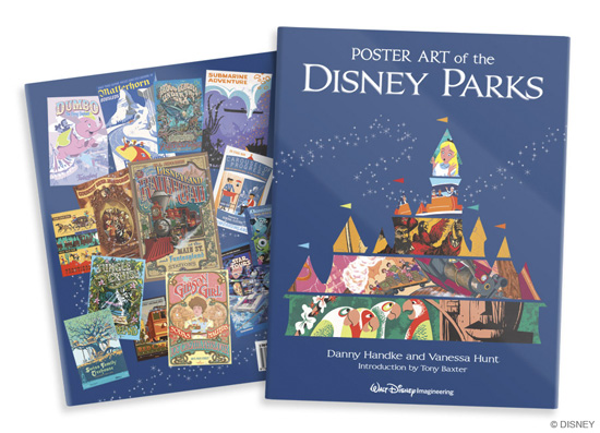 Poster Art of the Disney Parks Book Coming Soon
