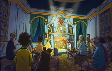 PHOTO: Look Inside Belle's New Library
