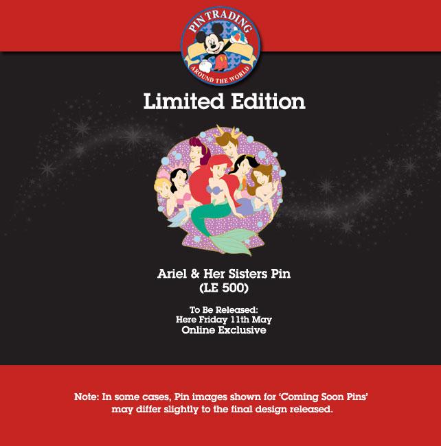 Disney Store UK Pin Release – May 2012