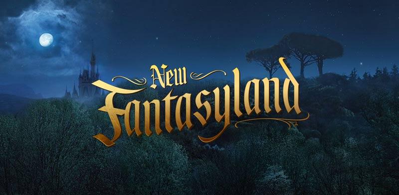 New Fantasyland Teaser Website
