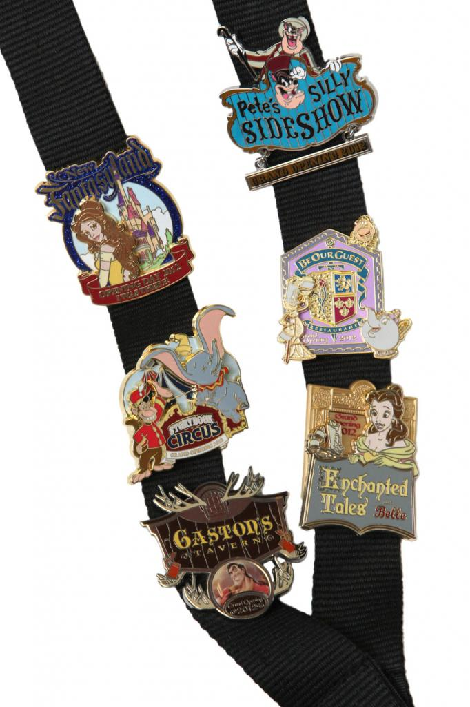 Disney Announce New Fantasyland Pins