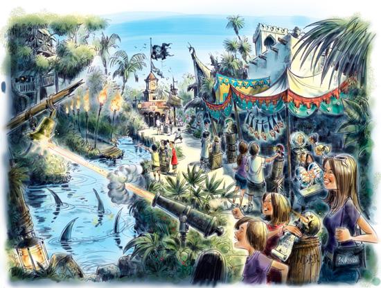 A Pirate's Adventure: Treasure of the Seven Seas Coming to the Magic Kingdom