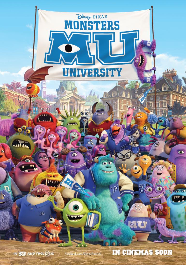 New Monsters University Poster