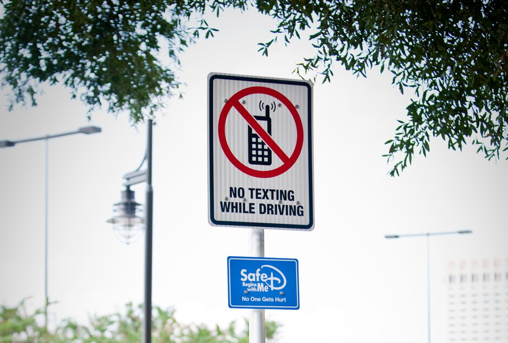 Disney Supports Crackdown on Texting and Driving