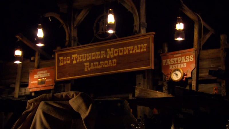 Big Thunder Mountain : Interactive Queue