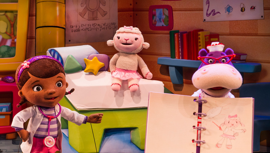 New Look Disney Junior – Live on Stage Debuts Today at DHS