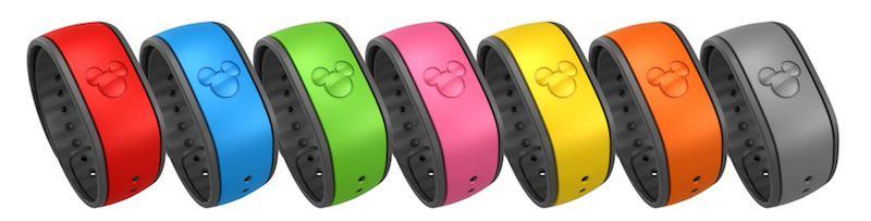 Disney Reveal RFID Band Designs