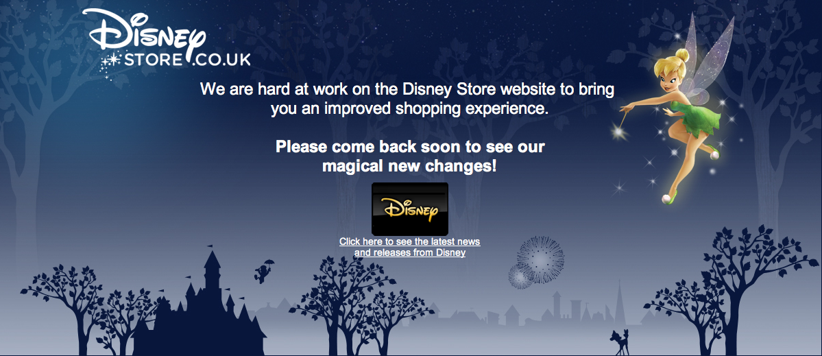 Disney Store UK Making Changes?