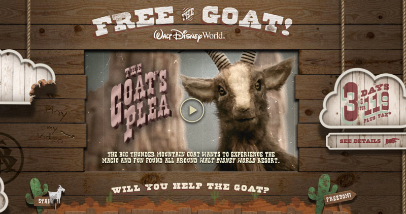 Will you Free the Goat?