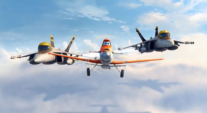 Disney Planes Sneak Peek