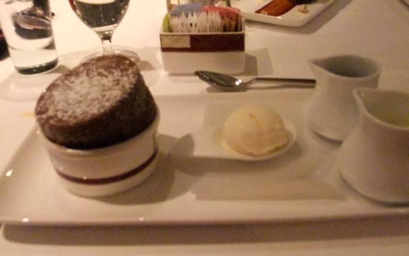 Chocolate Soufle