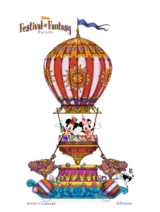 Festival of Fantasy Parade Coming to Magic KIngdom in 2014