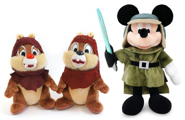 First Look at Star Wars Weekends 2013 Merchandise at Disney's Hollywood Studios, Including Plush Disney Characters
