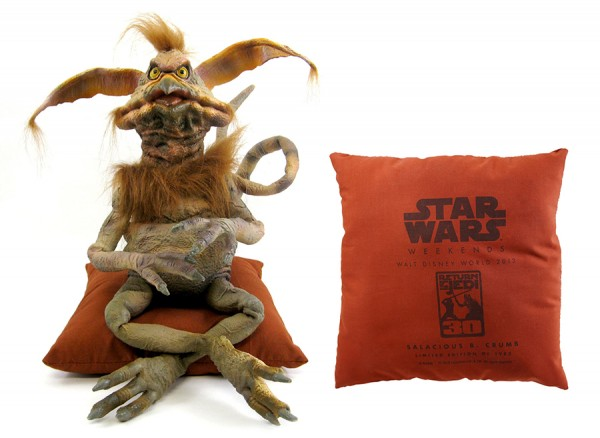 First Look at Star Wars Weekends 2013 Merchandise at Disney's Hollywood Studios, Including an Oversized Salacious B. Crumb Latex Character