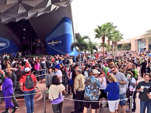 New Year Madness at the Disney Parks
