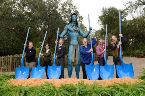 Disney Break Ground on Avatar Land