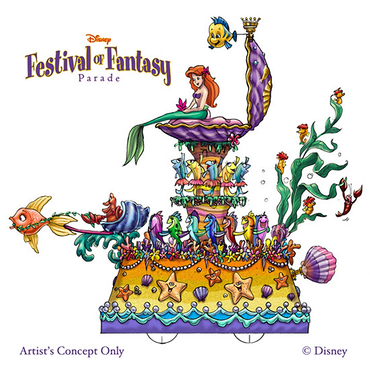 Disney's Festival of Fantasy Parade Given Opening Date