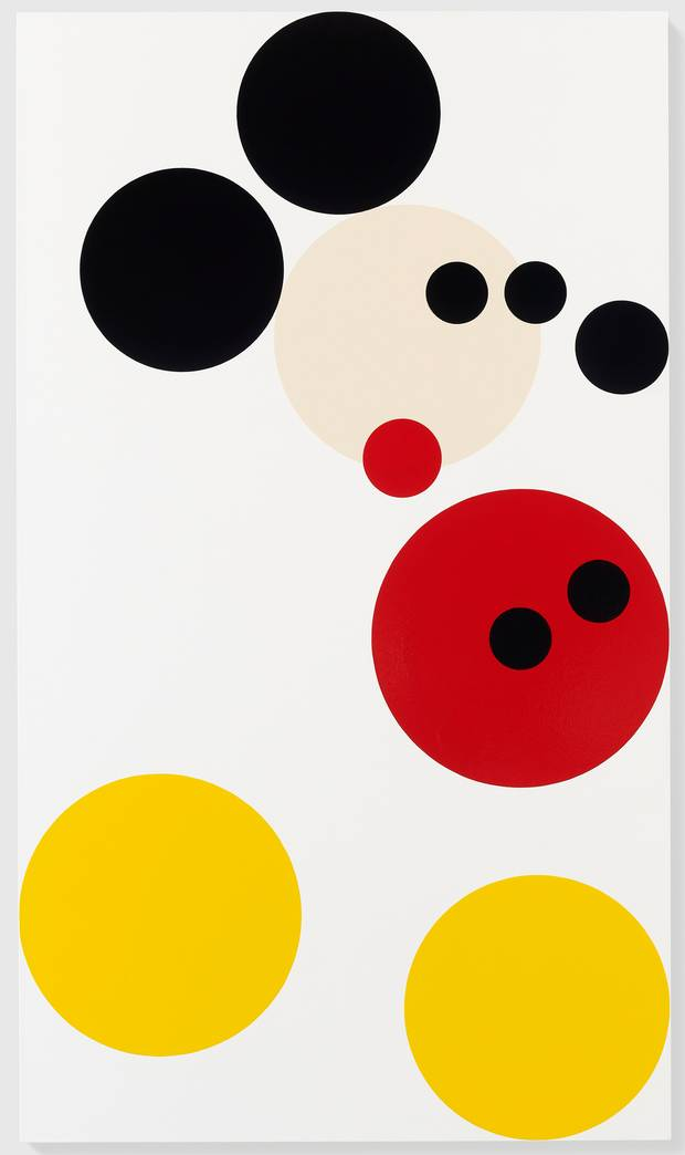 Damien Hirst's Mickey for auction