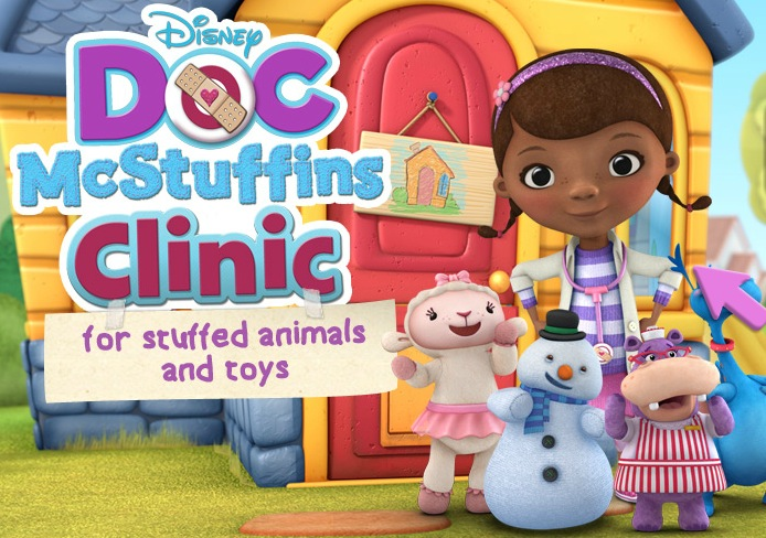 Doc McStuffins touring Clinic