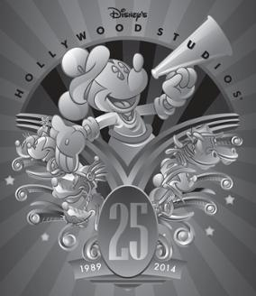 Disney Hollywood Studios Lay on Special 25th Entertainment