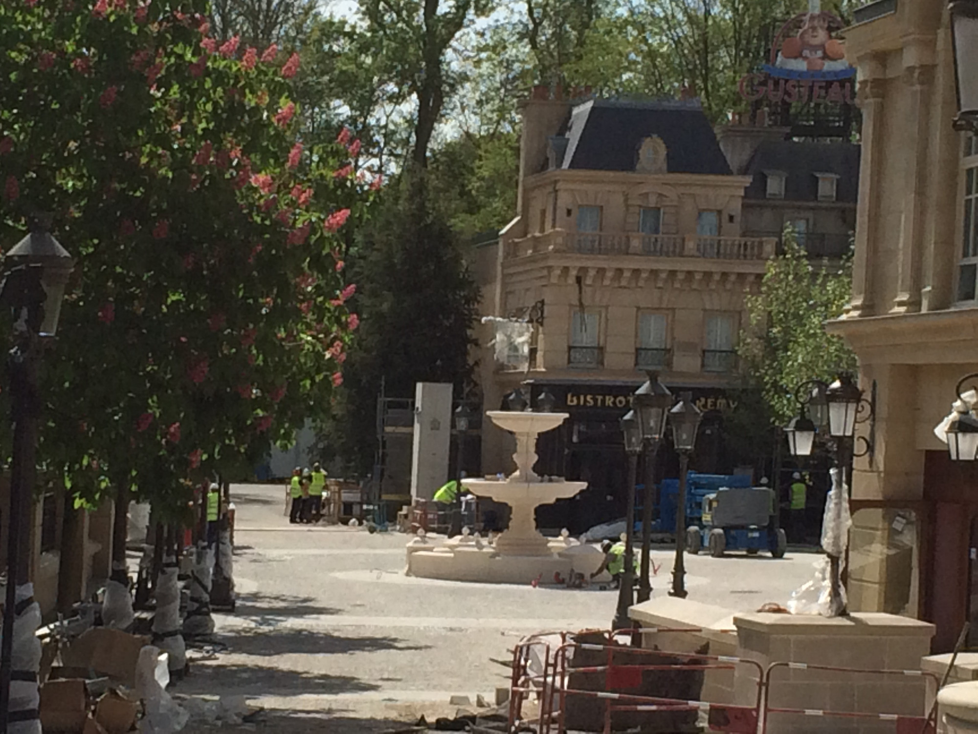 PHOTOS: Ratatouille Area of Disneyland Paris is Nearly Complete