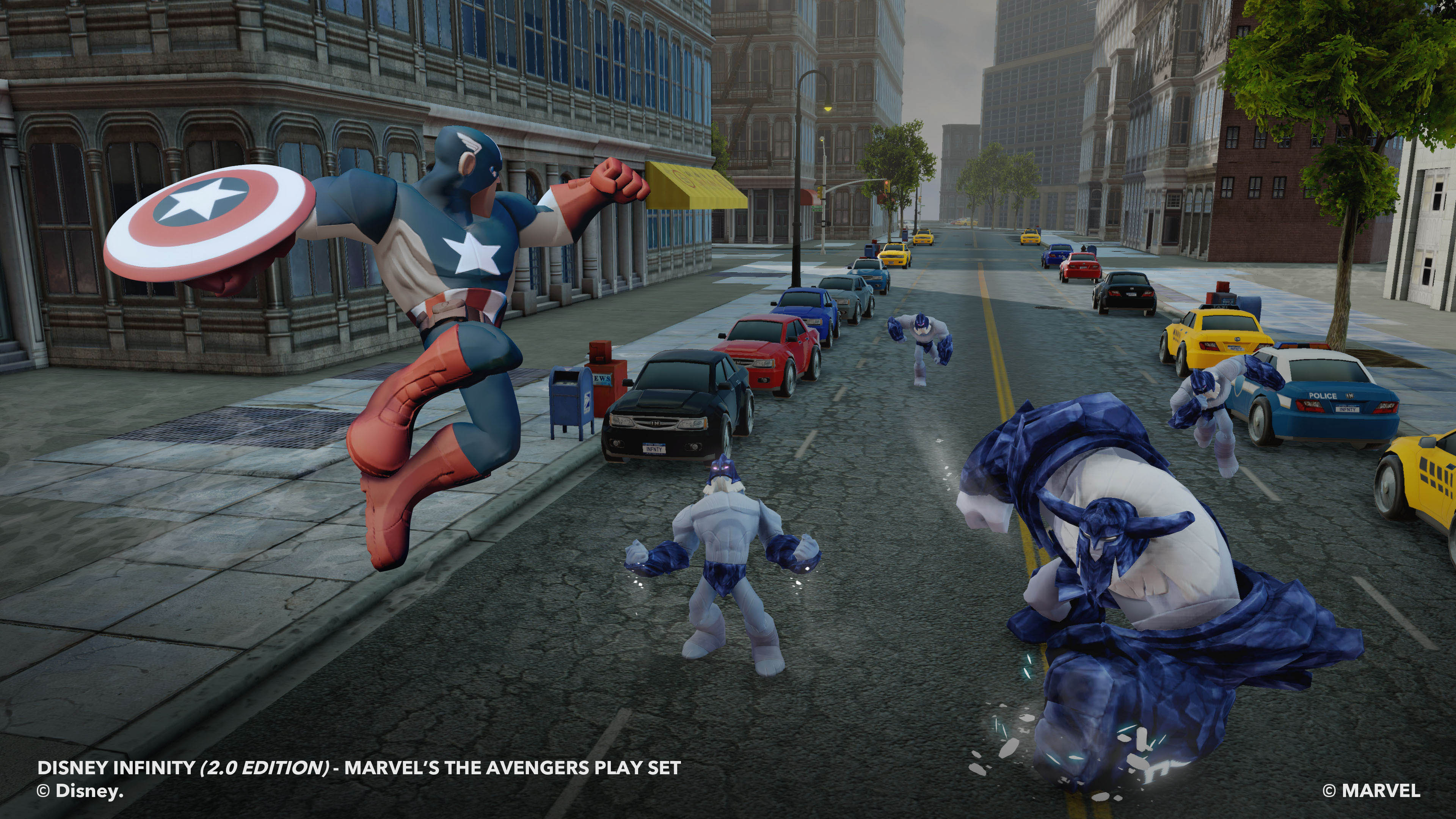 Marvel Joins the Disney Infinity Universe