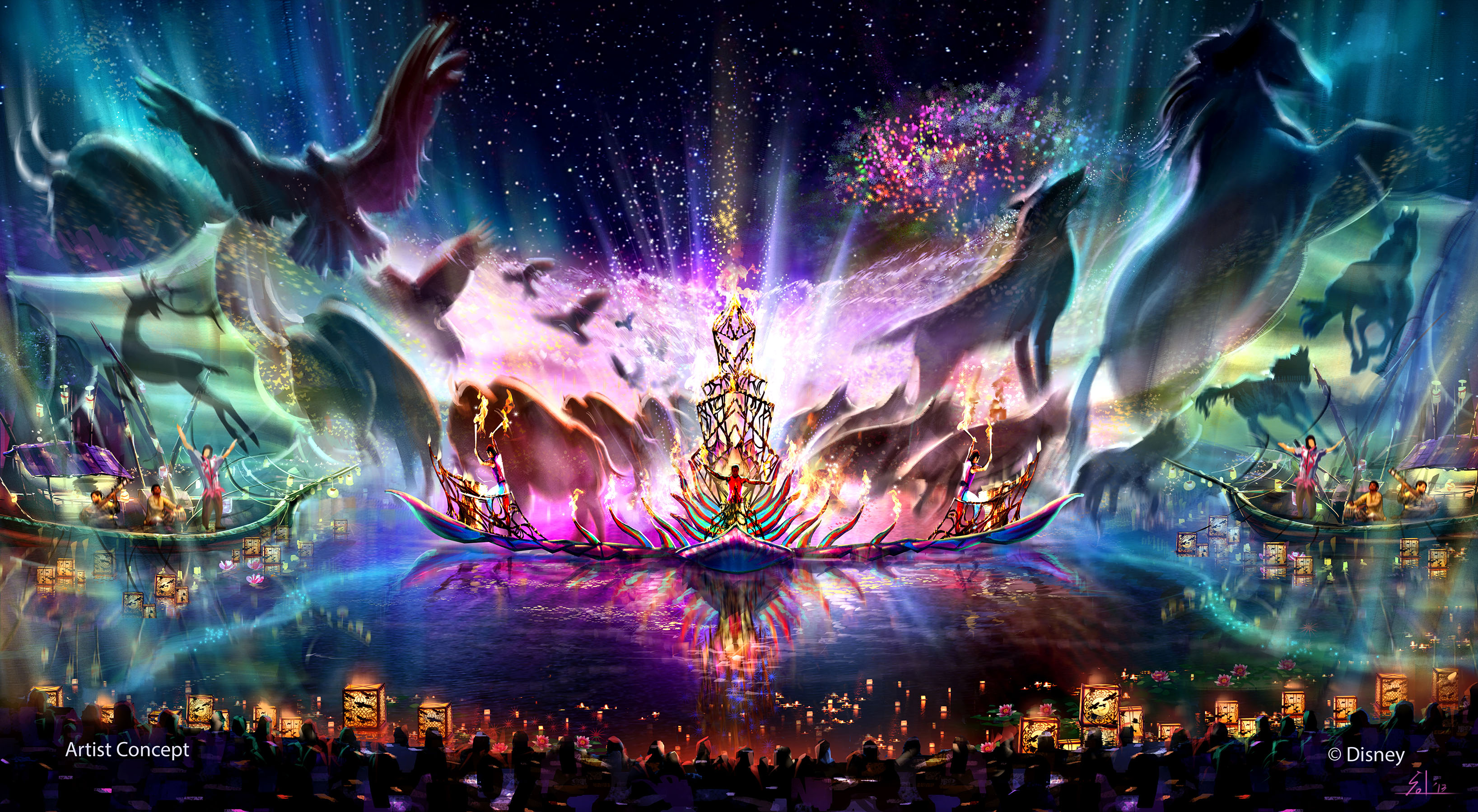 Disney's Animal Kingdom – Rivers of Light Opening in 2016