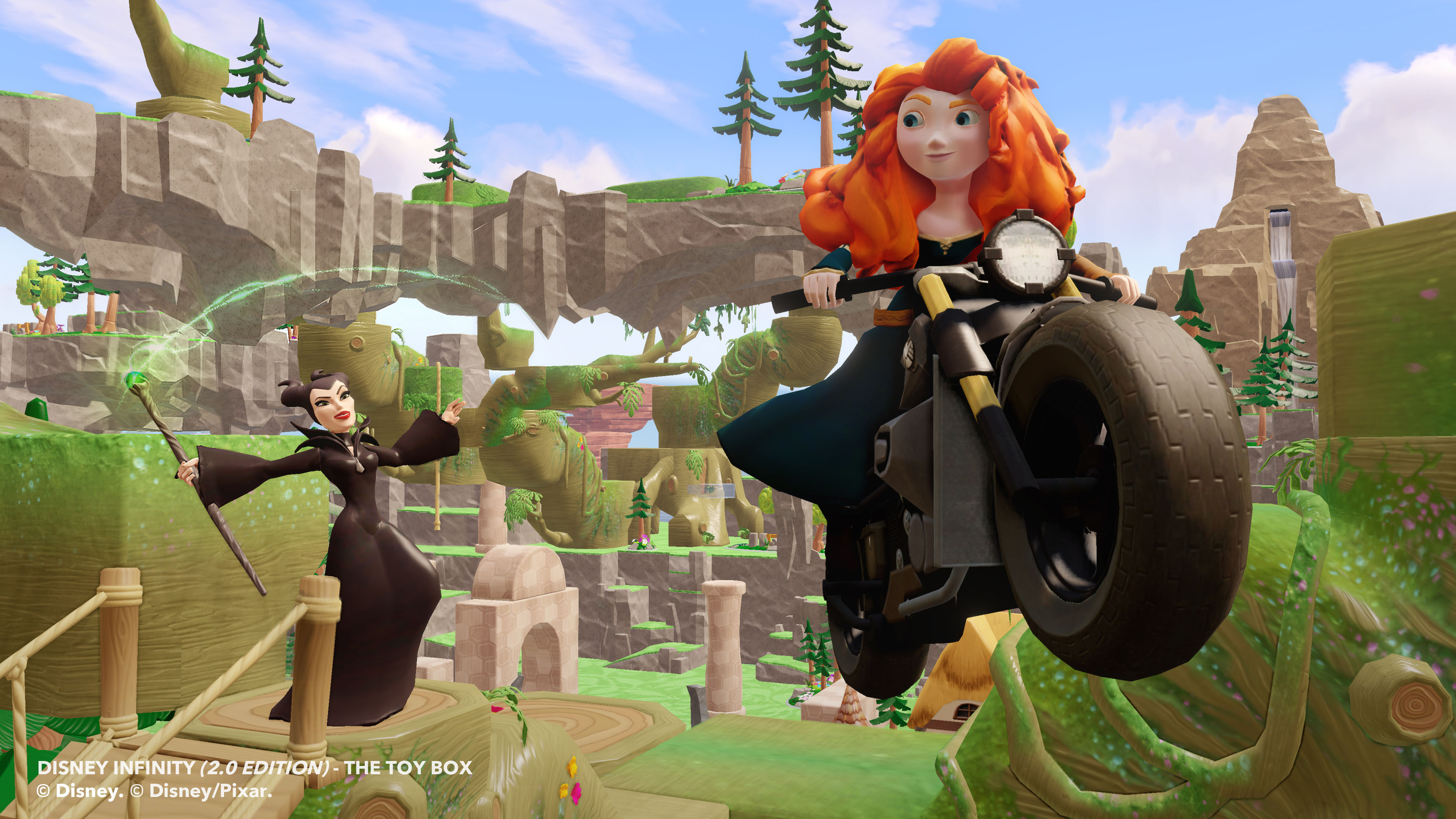 Disney Infinity 2.0 Welcomes Merida and Maleficent