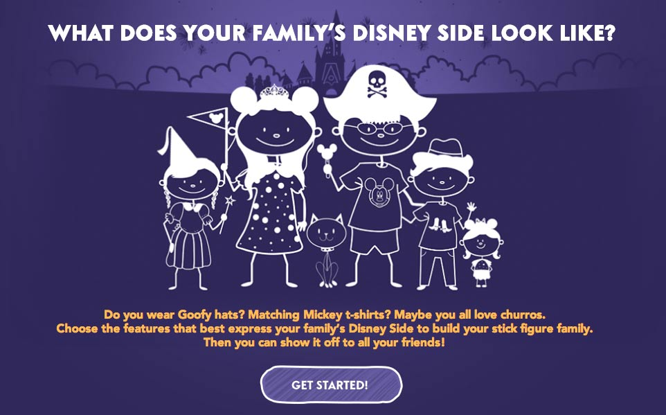 Build your Disney Side!
