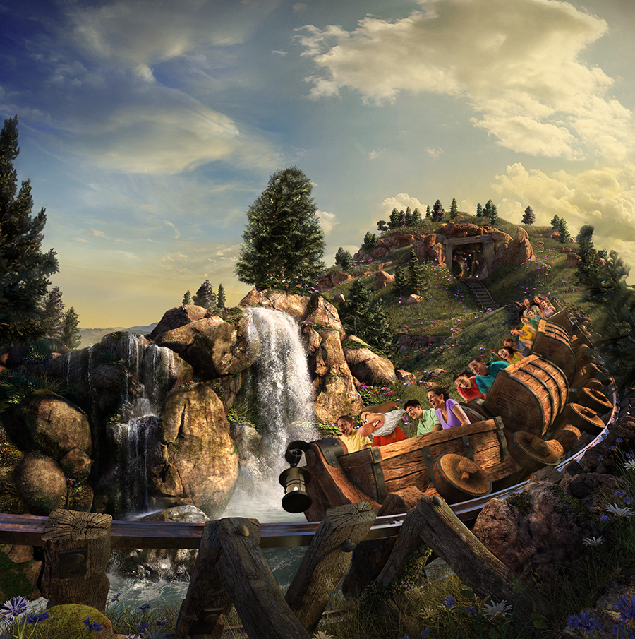 7 Things You Might Not Know about Seven Dwarfs Mine Train