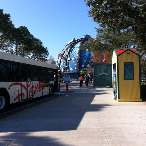 Downtown Disney's Pleasure Island Bus Stops Closing