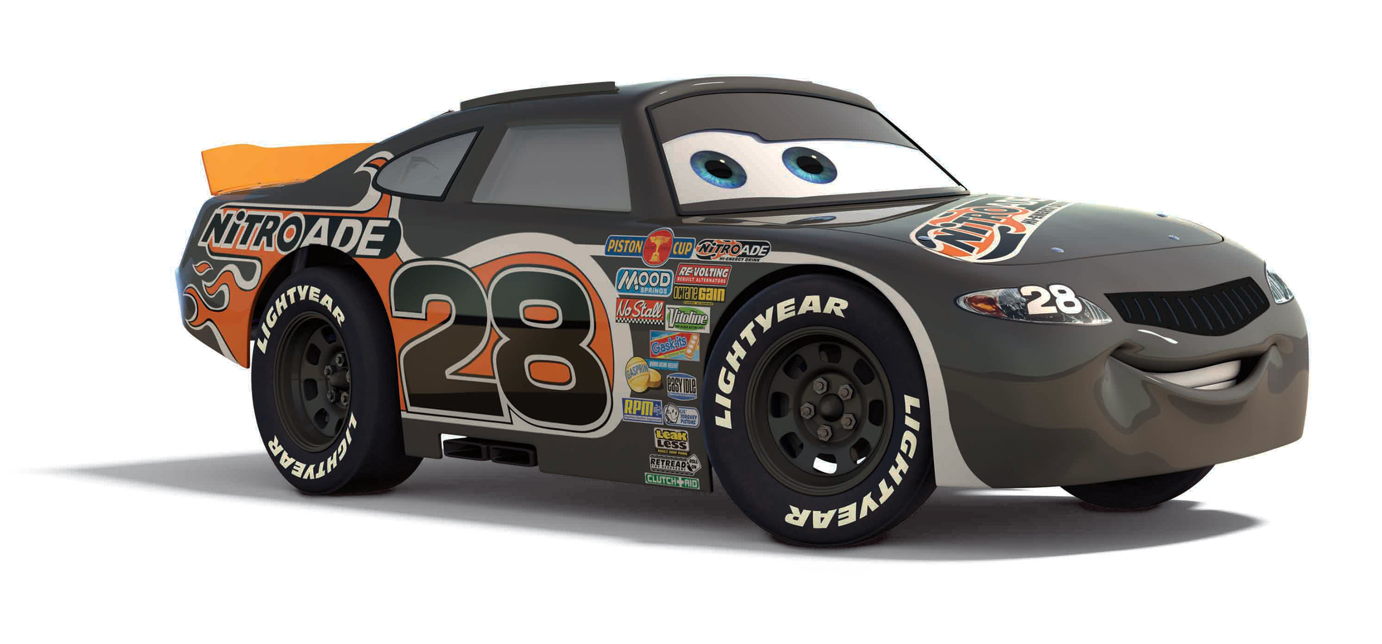 Richard Petty Experience Adds a Touch of Pixar With Junior Ride Along