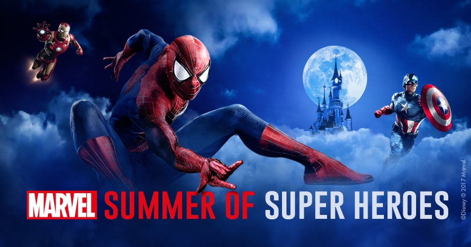 More Details about the Marvel Summer of Superheroes at Disneyland Paris